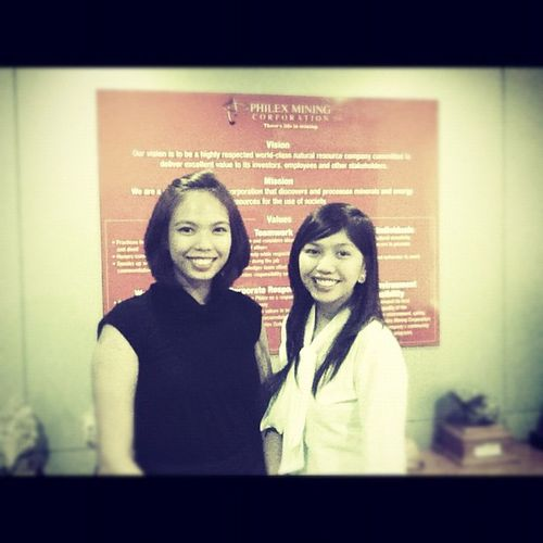 Congrats to us!! :) yey. Done with the Project Proposal Presentation. We missed you, Annie.