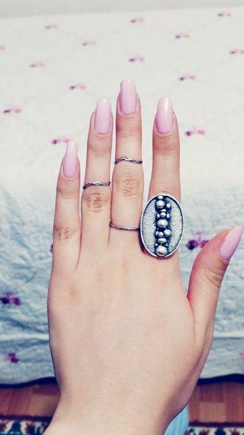Nailpolish Pinknails Love ♥ Rings♥ Oje 🙈