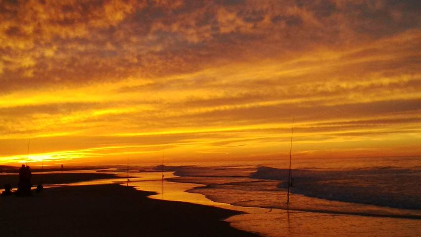 Beach Beauty In Nature Cape Cod Gadventures Nature Orange Color Outdoors Scenics Sea Sunset