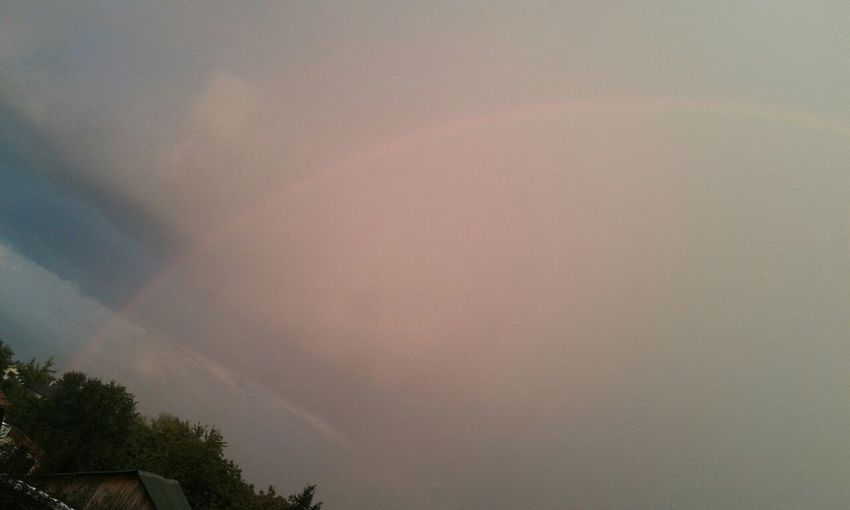 Beautiful Rainbow  Rainy Days☔ When Im Bored