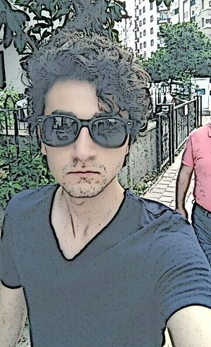 Curly Hair Pyro Sunglasses Street Turkishboy ThatsMe That's Me