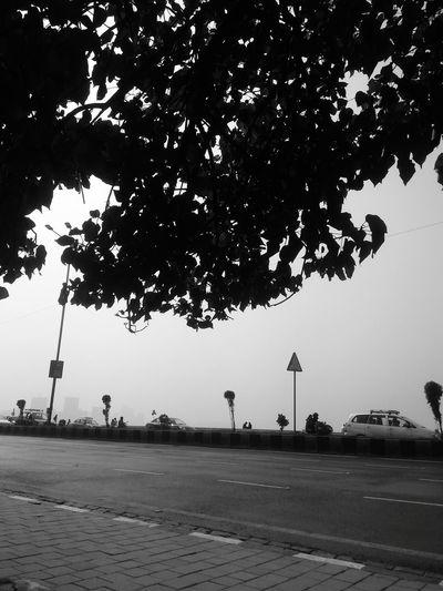 Journey Mumbaimerijaan Marine Drive,mumbai Blackandwhitephoto Sillhouette