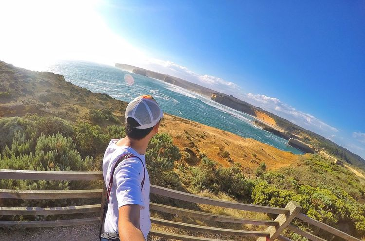 What a view... GoPro Hero 4 Melbourne Loch Ard Gorge Great Ocean Road Enjoying The Sun EyeEm Nature Lover Travel Photography