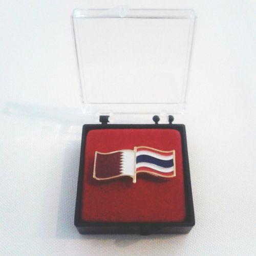 ของที่ระลึกจากนักกีฬาประเทศ Qatar Thank u for the gift of Qatar ??? #AsianBeachGames #Phuket #2014 #Thailand Qatar