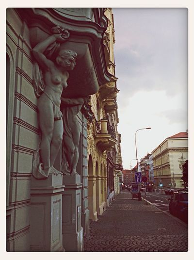 Prague is just the most beautiful city. Architecture Street Art