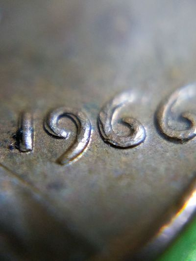 EyeEm Selects Close-up Penny 1966 Penny Doubled Cent Penny Error