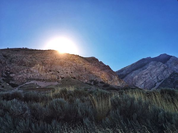 Outdoor Nature Photography Landscape Mountains Outdoors Nature Sunburst Sunrise Morning Sun Morning Light Morning Sky Morning Hiking Mountain Morning Iphoneonly
