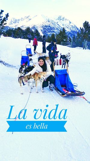 Sorteny, Andorra, La Vida Es Bella, Nieve, Perros Togetherness Women Men Outdoors People Adult Young Adult Day First Eyeem Photo