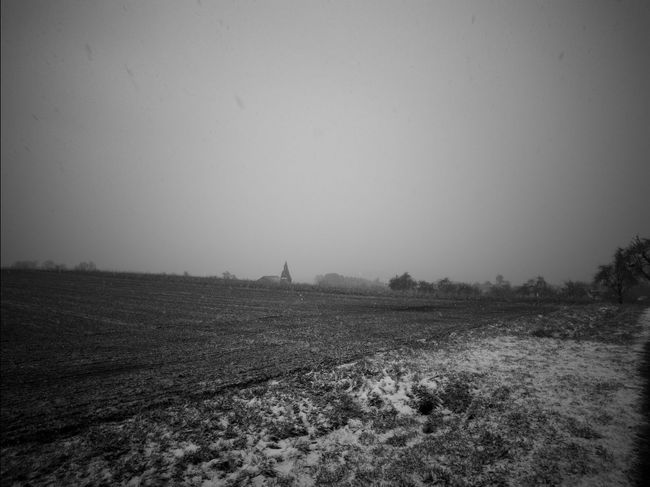 barren landscape Black & White Agriculture Backgrounds Barren Beauty In Nature Black And White Blackandwhite Bw Clear Sky Cold Cold Days Cold Temperature Day Field Grass Landscape Landscapes Nature No People Outdoors Rural Scene Scenics Sky Tranquil Scene Tranquility