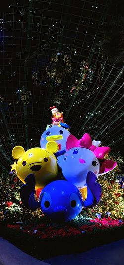 Toy Story Lotso Monsters INC Mike Donald Duck Tigger Minnie Mouse Mickey Mouse Stitch Marie Pooh Tsumtsum Disney Illuminated Nature Arts Culture And Entertainment Night Tree Christmas