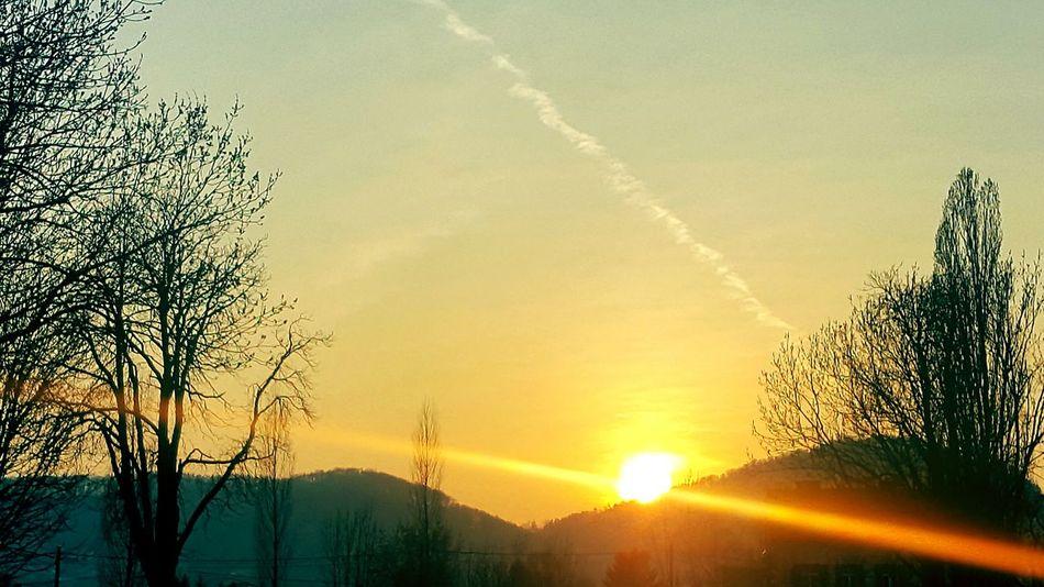 Graz Austria ❤ Sunset Sun Nature Sky Beauty In Nature Outdoors Naturalplace Sundown