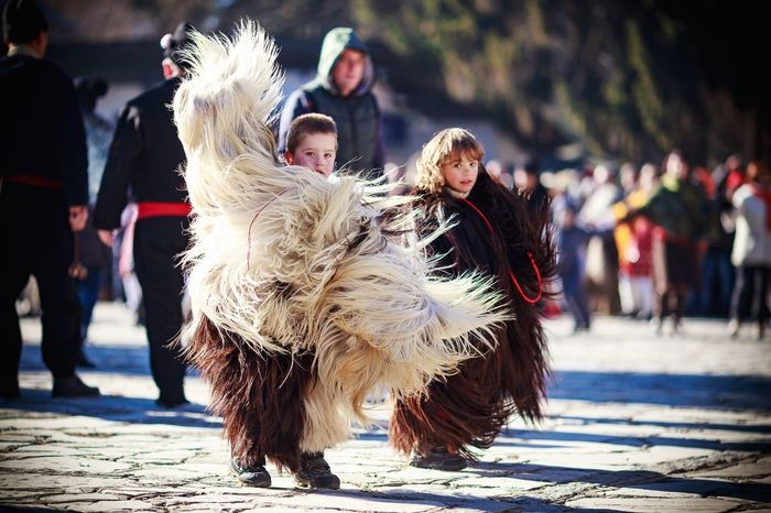 Jump, jump, jump around... Traditions I can not help;) Bulgaria Celebration 1stjanuary2016 2016 Kids Kids Being Kids Costumes KuKer Evil Believes DSLR Photojournalism Story EventPhotography Winter Boys Funny Jumping Dance Dancer Traditional Youth Of Today Coulture Tourism Bulgaria