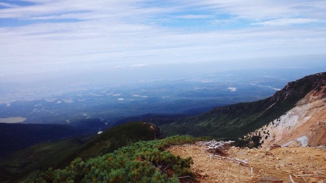 Mountains Sky 山