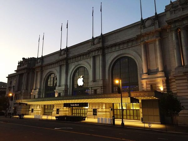 Wwdc 2016 San Francisco Built Structure Building Exterior Arch City Road Illuminated Clear Sky City Life Travel Destinations Tourism Outdoors City Street History Monument Famous Place Sky The Past Façade No People