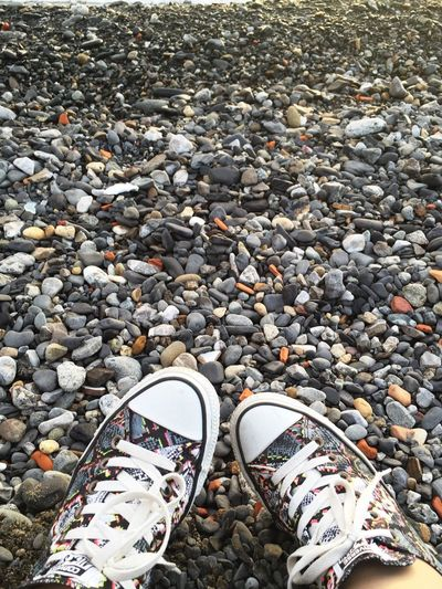 Camouflage Same  Converse Converse All Star Foot Shoes Rock Rocks Rocky Beach Outdoors