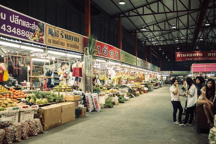 Markt Chiangmai Thailand Wanderlust Thailand_allshots