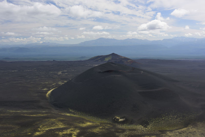 Hills in the black volcanic desert Aerial View Beauty In Nature Cloud - Sky Day Far East Idyllic Kamchatka Landscape Mountain Nature No People Non-urban Scene Outdoors Physical Geography Russia Scenics Sky Tranquility