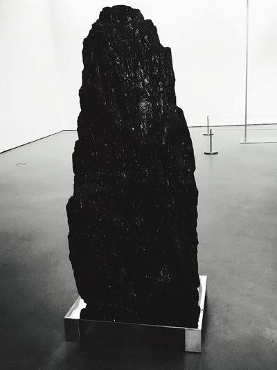 Black And White Black Black Mountain Sculpture