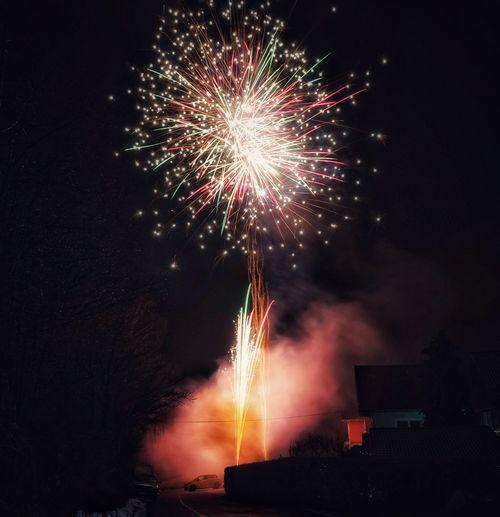 Feuerwerk bei