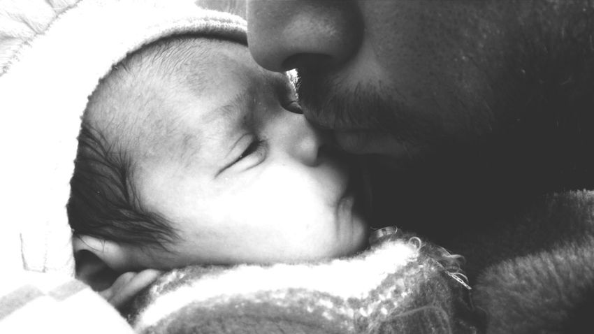 Eyes Closed  Love Affectionate Human Face Close-up Baby ❤ Fragility Majestic Black And White Baby Boy.♥ Black & White Newborn MomentsToRemember Moments Of Life Moments Of My Life @ 私の人生の瞬間。 Baby Boy Nature