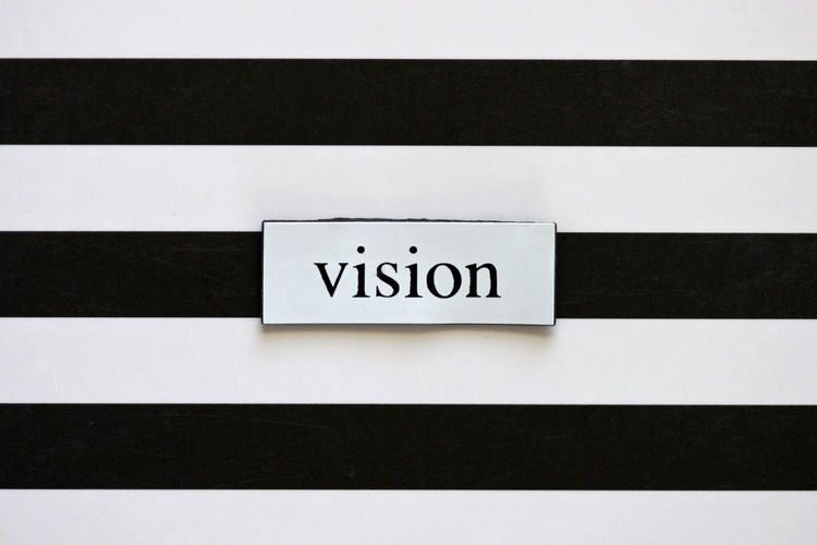 Visionary Ability Business Concept Eyesight Forethought Ideas Ingenious Inspiration Invention Observation Perceptive Plans Sight Text Thoughts View Vision Word