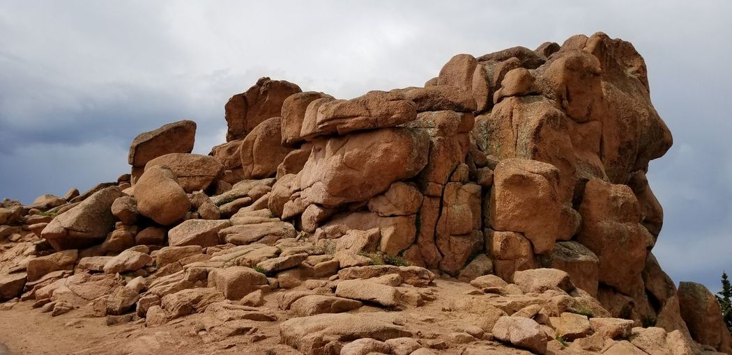 Rock - Object Beauty In Nature Pikes Peak In Colorado No People Outdoors