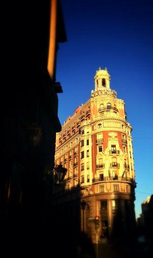 Architecture Golden Hour