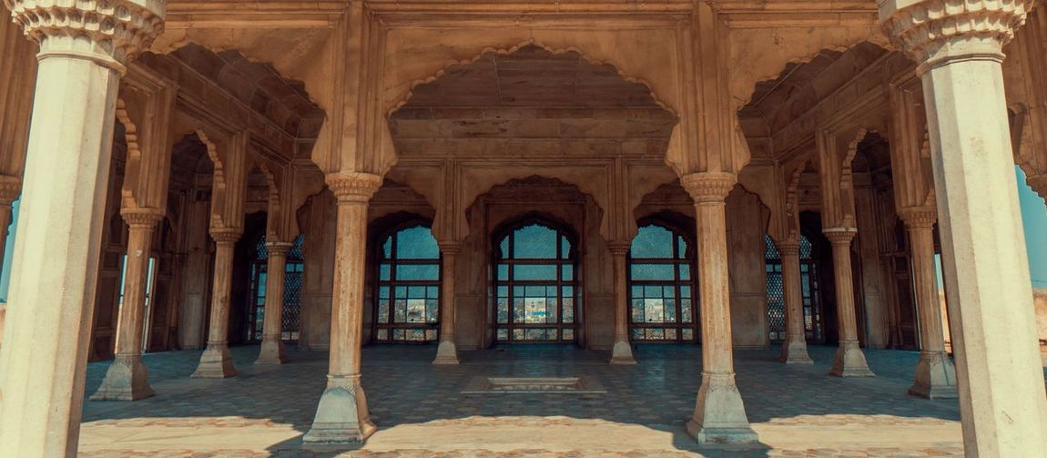 Arch Architectural Column Architecture Beauty Building Exterior Built Structure Day History Lahore No People Outdoors Pakistan Travel Destinations
