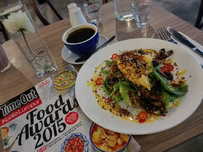 Wanderlust Benedict. Breakfast Great Atmosphere Kuala Lumpur