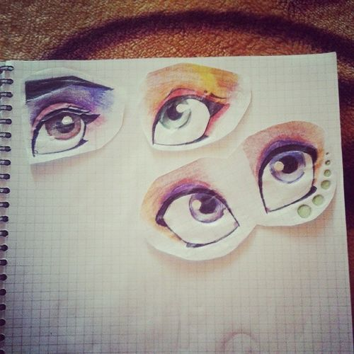 глазки глаза  мое творение