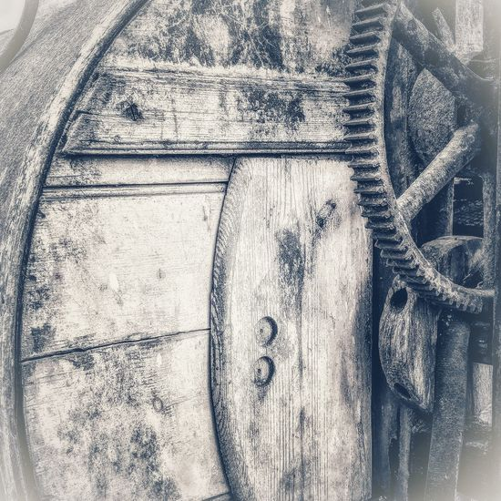 Selector Leather Strap History Horse Drawn Wood Pioneer Panel Yesteryear  Agriculture Old Machinery Winnower Wheel Harvester Cog Cropping Vintage Backgrounds Full Frame Textured  Close-up Weathered Run-down Rusty Deterioration Peeled Textured  Bad Condition