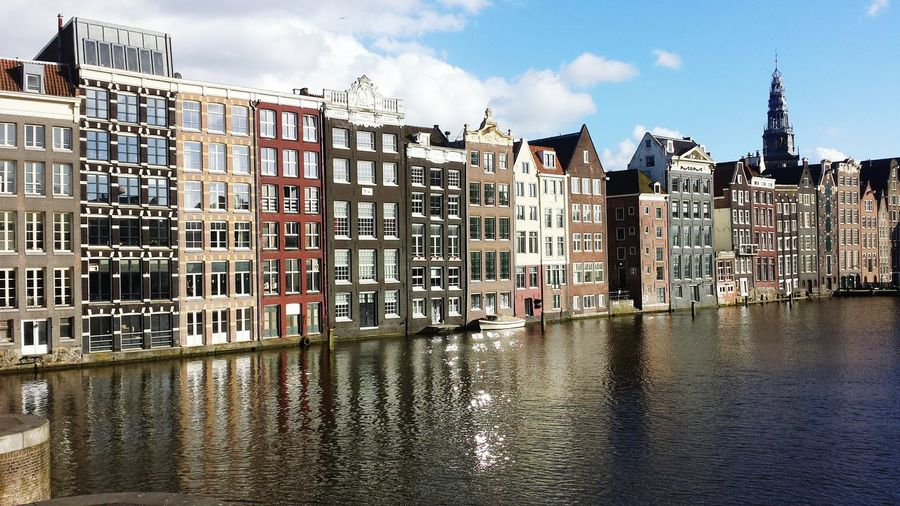 Amsterdam Amsterdam Centraal My City Canal View Amsterdam Canal Waterfront From My Point Of View Reflection Dutch Canals Historical Buildings Historic City History Through The Lens  Buildings Architecture Architecture Architectural Detail Amsterdamthroughmycamera Amsterdam City Amsterdamcanals Damrak Water Reflections Waterscape