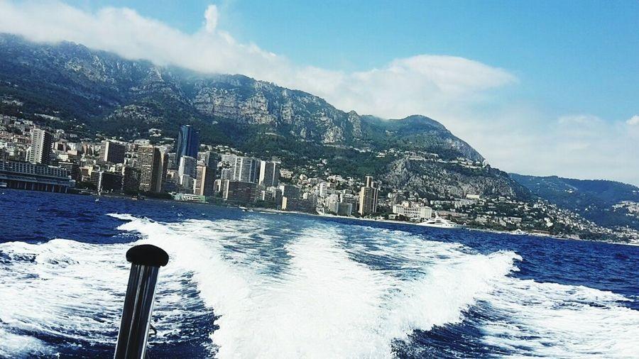 The Journey Is The Destination Frenchriviera Mediterranean  Monaco Sea Boat Adventure Bestshot Traveling