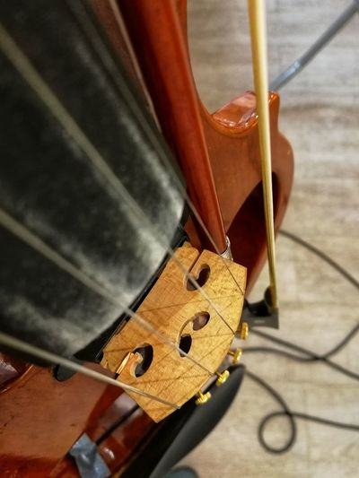 Electric violin Music Electric Violin Rock'n'Roll Bow Strings Cable Tuning Wood - Material Musical Instrument Close-up Musical Instrument String Fretboard Violin Musical Equipment String Instrument Bow - Musical Equipment