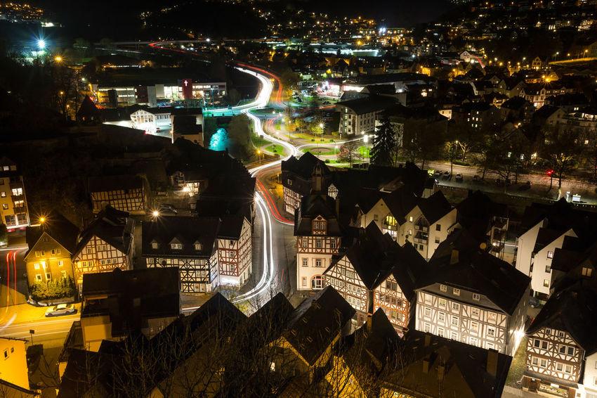dillenburg germany historic city Dillenburg German Hessen Germany Lights Nightphotography Architecture Building Exterior Evening Germany Hessen Outdoors Sky