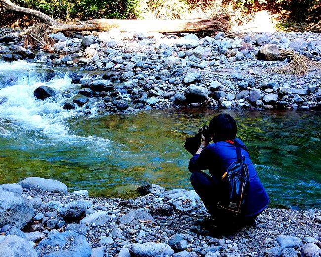 川 Riverside Relaxing Enjoying Life お出掛け