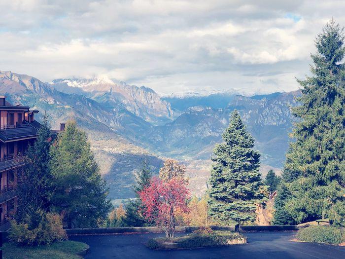 Architecture Snow Cold Temperature Mountain Range