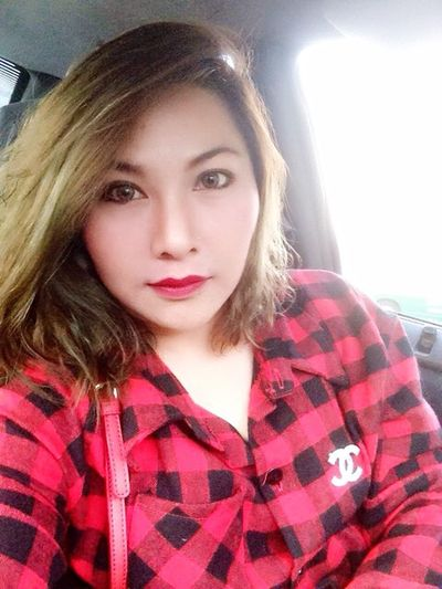 Let's go vacation 👉 เชียงคาน Selfportrait Fashion Street Fashion Red Enjoying Life Asian Girl
