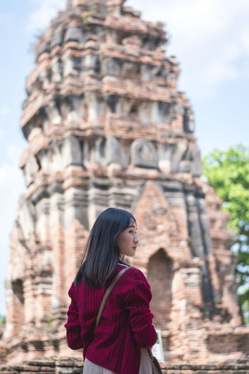 Sukhothai Sukhothai One Person Architecture History Religion The Past Real People Built Structure Belief Spirituality Leisure Activity Focus On Foreground Place Of Worship Lifestyles Standing Day Travel Destinations Young Adult Tourism Hairstyle Outdoors