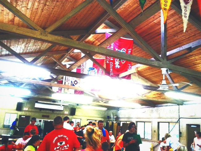 Camp Sidney Dew Camping Adventure Camp Banners Mess Hall