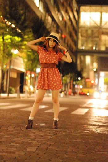 道路の照り返しが好き。Model:りんすPortrait Girl Beauty KAWAII
