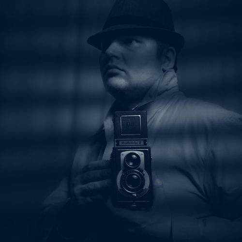 A quick self-portrait film noir style. Selfportrait Blue Dark Self Portrait Filmnoir Film Noir Style Film Noir Photography Themes Camera - Photographic Equipment Retro Styled Technology Photographing One Man Only Photographer Portrait Old-fashioned Only Men Gangster Spy One Person People Young Adult Adult Photograph