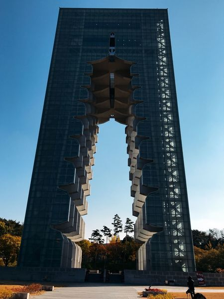 Gyungju Korea Architecture Built Structure Building Exterior Low Angle View Nature Travel History Tower Tall - High