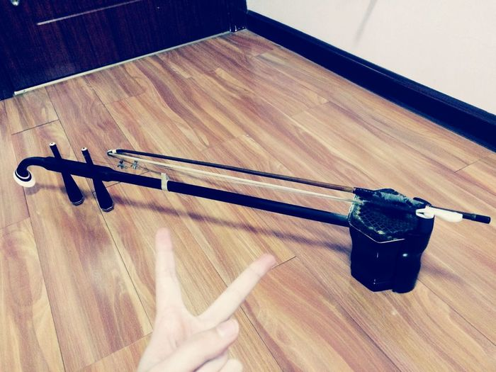 I have been playing this for years. This instrument named Erhu. Chinese violin ?. Erhu Instrument Art Music Live Music Taking Photos Enjoying Life Good Mood Haha Canon