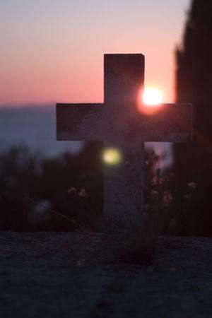 Bokeh Sunset Calm Down Cemetery Croatioa Cross Cross Bokeh Dalmatian Illuminated Landscape Nature Outdoors Primošten Silhouette Sky Sunset Primosten, Croatia Miles Away