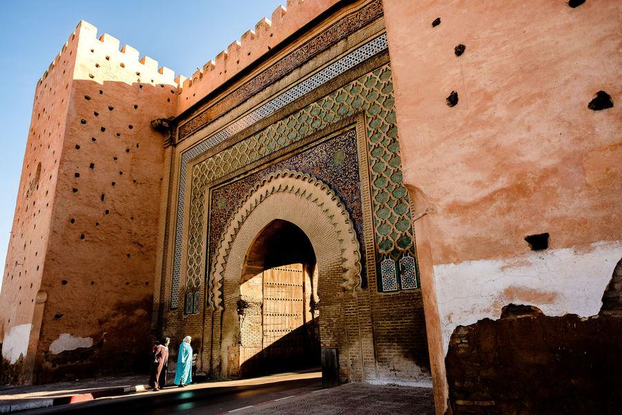 Bab El Khemis Gate City Wall Meknès Morocco Travel Arch Architecture History Outdoors Street Streetphotography Tourism Travel Destinations