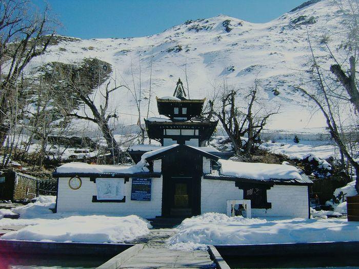 Snow.capped Muktinath, Mustang, Nepal