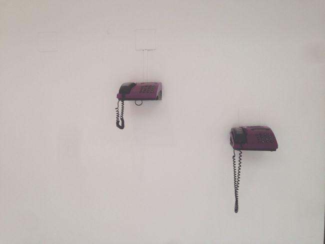 Phone Wall Purple