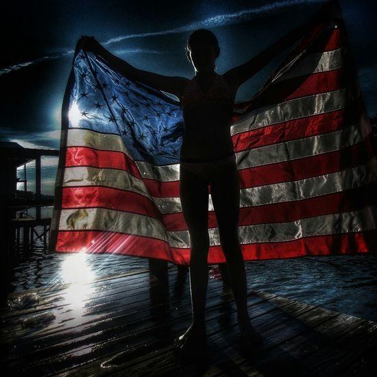 America Merica Redwhiteblue American Flag USA EyeEm Best Shots Americangirl Flag Check This Out Southern