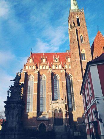 Wroclaw, Poland Ostrów Tumski Katedra Architecture